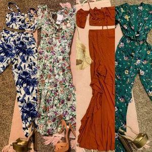 FLOWER ZARA DRESS